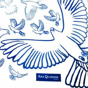 Carré Oiseaux B&B close-up