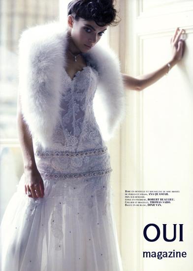 Robe Extase-Oui magazine