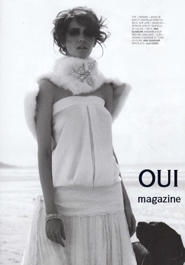 Top Hermes jupe Angelina Oui magazine