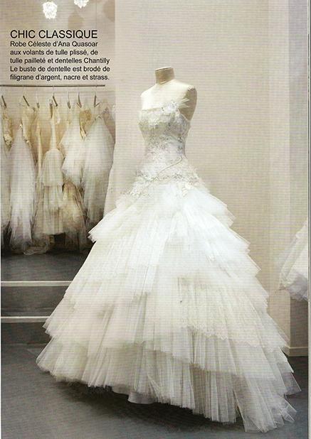 Point de vue robe Celeste Janvier 2011