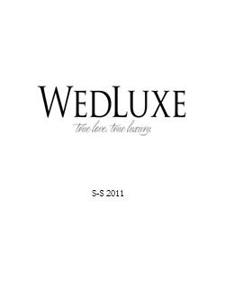 wedluxe